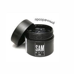 Прозрачная акриловая паста для укрепления натуральных ногтей Sam Nail