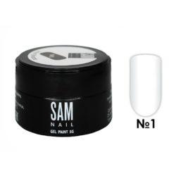 Гель-краска для ногтей Sam Nail 1