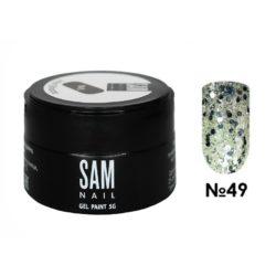 Гель-краска для ногтей Sam Nail 49