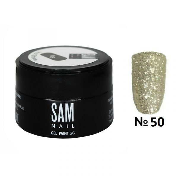 Гель-краска Sam Nail 50+
